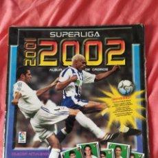 Coleccionismo deportivo: ALBUM SUPERLIGA 2001 2002 PANINI SPORTS. Lote 172609882