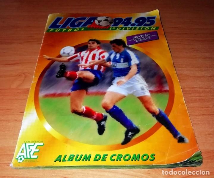 ALBUM EDICIONES ESTE TEMPORADA 1994 1995 --- FOTOS DE TODAS LAS HOJAS --- MUCHOS CROMOS (Coleccionismo Deportivo - Álbumes y Cromos de Deportes - Álbumes de Fútbol Incompletos)