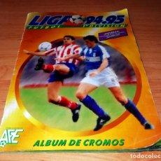Coleccionismo deportivo: ALBUME EDICIONES ESTE TEMPORADA 1994 1995 --- FOTOS DE TODAS LAS HOJAS --- MUCHOS CROMOS. Lote 172623235