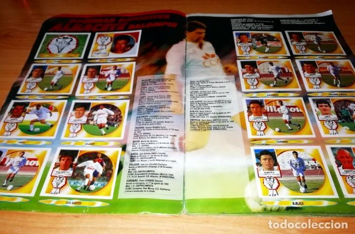 Coleccionismo deportivo: ALBUM EDICIONES ESTE TEMPORADA 1994 1995 --- FOTOS DE TODAS LAS HOJAS --- MUCHOS CROMOS - Foto 3 - 172623235