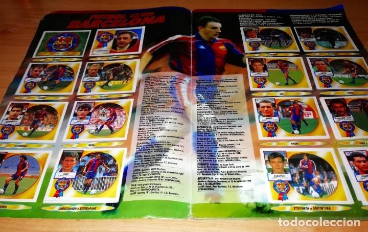 Coleccionismo deportivo: ALBUM EDICIONES ESTE TEMPORADA 1994 1995 --- FOTOS DE TODAS LAS HOJAS --- MUCHOS CROMOS - Foto 4 - 172623235