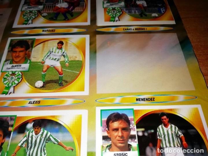 Coleccionismo deportivo: ALBUM EDICIONES ESTE TEMPORADA 1994 1995 --- FOTOS DE TODAS LAS HOJAS --- MUCHOS CROMOS - Foto 6 - 172623235