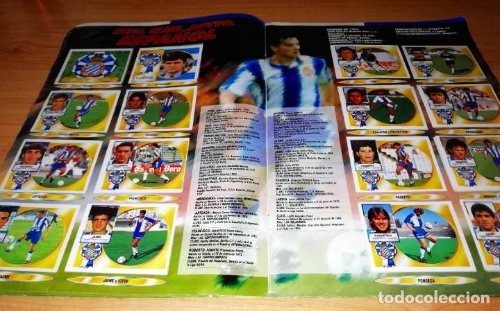 Coleccionismo deportivo: ALBUM EDICIONES ESTE TEMPORADA 1994 1995 --- FOTOS DE TODAS LAS HOJAS --- MUCHOS CROMOS - Foto 12 - 172623235