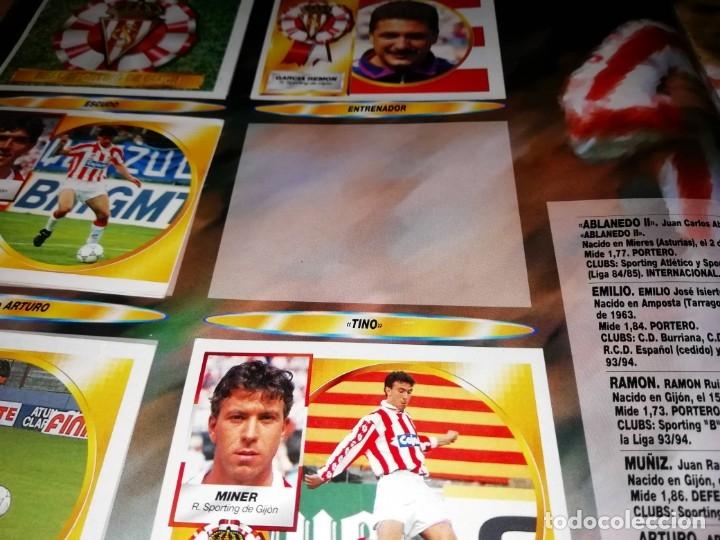 Coleccionismo deportivo: ALBUM EDICIONES ESTE TEMPORADA 1994 1995 --- FOTOS DE TODAS LAS HOJAS --- MUCHOS CROMOS - Foto 14 - 172623235