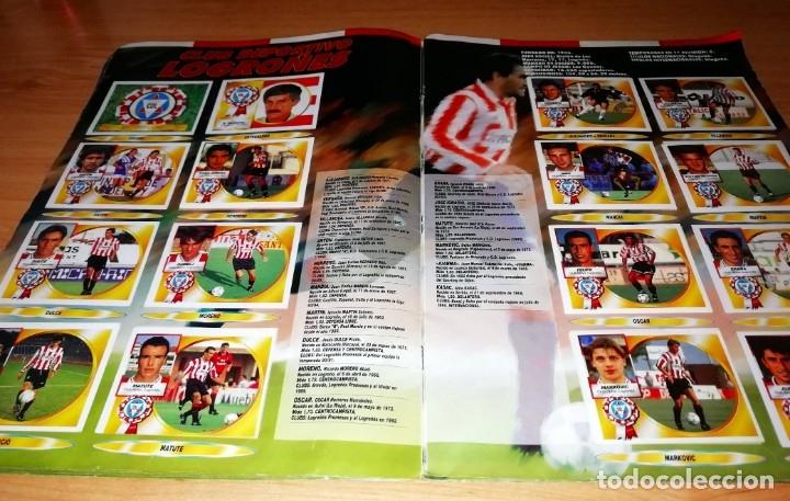 Coleccionismo deportivo: ALBUM EDICIONES ESTE TEMPORADA 1994 1995 --- FOTOS DE TODAS LAS HOJAS --- MUCHOS CROMOS - Foto 15 - 172623235