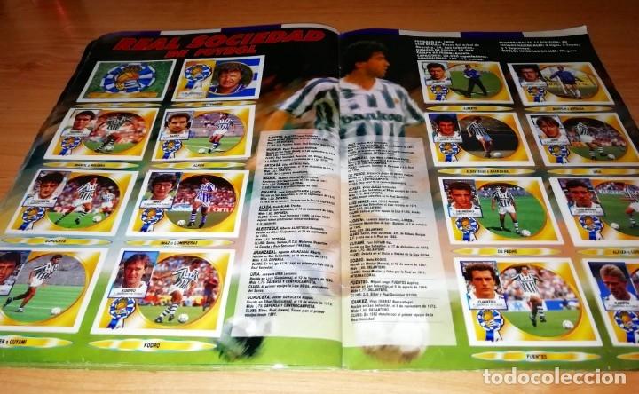 Coleccionismo deportivo: ALBUM EDICIONES ESTE TEMPORADA 1994 1995 --- FOTOS DE TODAS LAS HOJAS --- MUCHOS CROMOS - Foto 22 - 172623235
