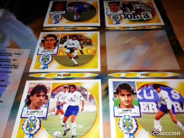 Coleccionismo deportivo: ALBUM EDICIONES ESTE TEMPORADA 1994 1995 --- FOTOS DE TODAS LAS HOJAS --- MUCHOS CROMOS - Foto 24 - 172623235