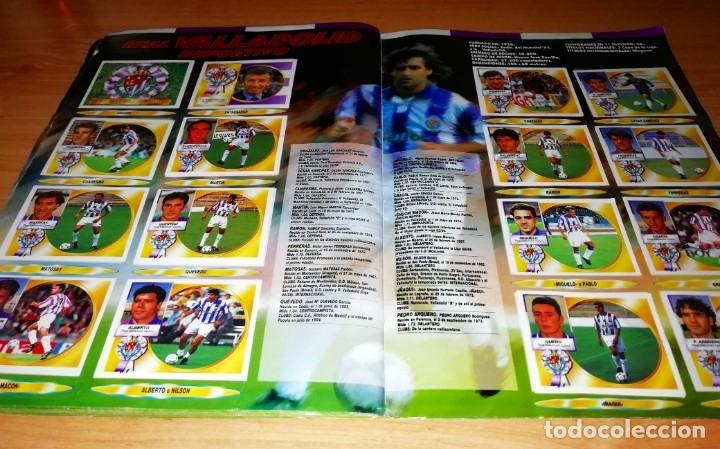Coleccionismo deportivo: ALBUM EDICIONES ESTE TEMPORADA 1994 1995 --- FOTOS DE TODAS LAS HOJAS --- MUCHOS CROMOS - Foto 26 - 172623235