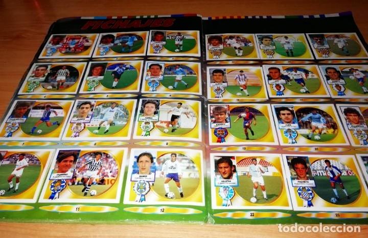 Coleccionismo deportivo: ALBUM EDICIONES ESTE TEMPORADA 1994 1995 --- FOTOS DE TODAS LAS HOJAS --- MUCHOS CROMOS - Foto 29 - 172623235