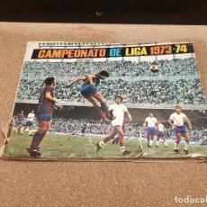 Coleccionismo deportivo: ALBUM...CAMPEONATO DE LIGA 1973--74....INCOMPLETO...... Lote 172634140