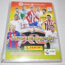 Coleccionismo deportivo: ÁLBUM ARCHIVADOR ADRENALYN XL PANINI LIGA 2016-17 - 370 TRADING CARD FICHAS CROMOS FUTBOL ÁLBUM AR. Lote 172642052