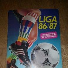 Coleccionismo deportivo: ALBUM VACIO LIGA ESTE 86 / 87 1986 1987 + SOBRE CROMOS VACIO. Lote 172673090