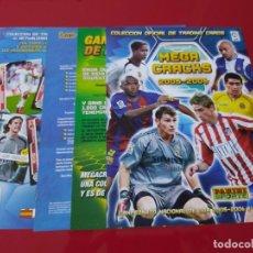 Coleccionismo deportivo: PORTADAS ORIGINALES COLECCION ALBUM ARCHIVADOR MEGACRACKS LIGA 2005 2006 05 06 PANINI. Lote 172917170