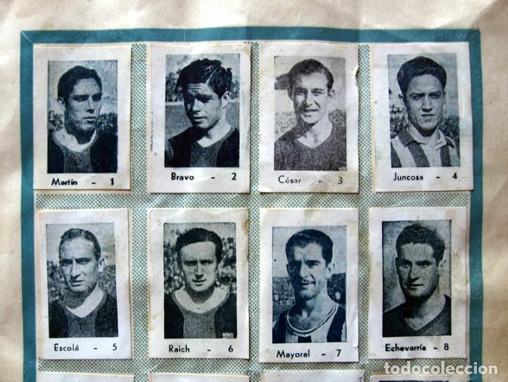 Coleccionismo deportivo: Album Cromos Fenómeno - Fútbol, Toros, Cine - año 1944 - Ver fotos y explicaciones interiores - Foto 16 - 56954712