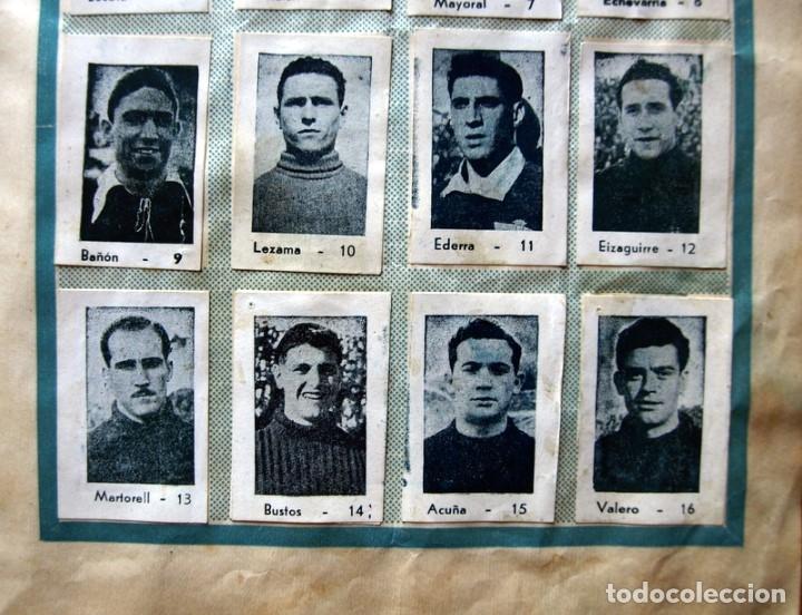 Coleccionismo deportivo: Album Cromos Fenómeno - Fútbol, Toros, Cine - año 1944 - Ver fotos y explicaciones interiores - Foto 17 - 56954712