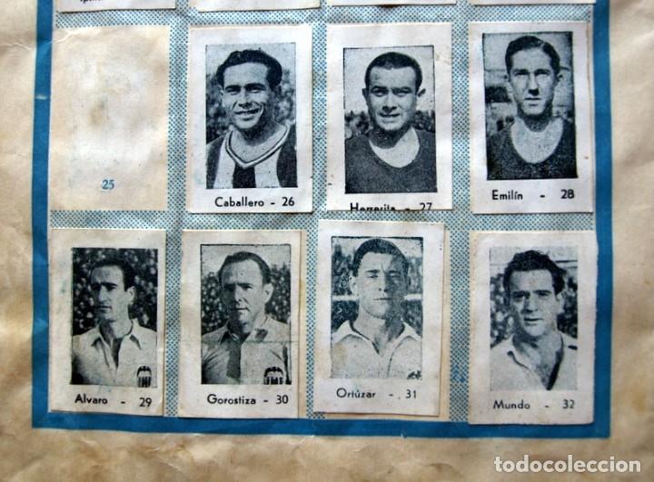 Coleccionismo deportivo: Album Cromos Fenómeno - Fútbol, Toros, Cine - año 1944 - Ver fotos y explicaciones interiores - Foto 19 - 56954712