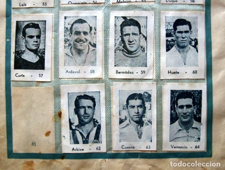 Coleccionismo deportivo: Album Cromos Fenómeno - Fútbol, Toros, Cine - año 1944 - Ver fotos y explicaciones interiores - Foto 23 - 56954712