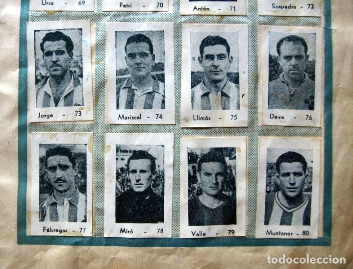 Coleccionismo deportivo: Album Cromos Fenómeno - Fútbol, Toros, Cine - año 1944 - Ver fotos y explicaciones interiores - Foto 25 - 56954712