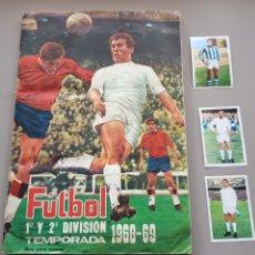 Coleccionismo deportivo: ALBUM FHER DISGRA LIGA SEGUNDA 68 69 1968 1969 CON 524 CROMOS Y CON MARTOS. Lote 173081937