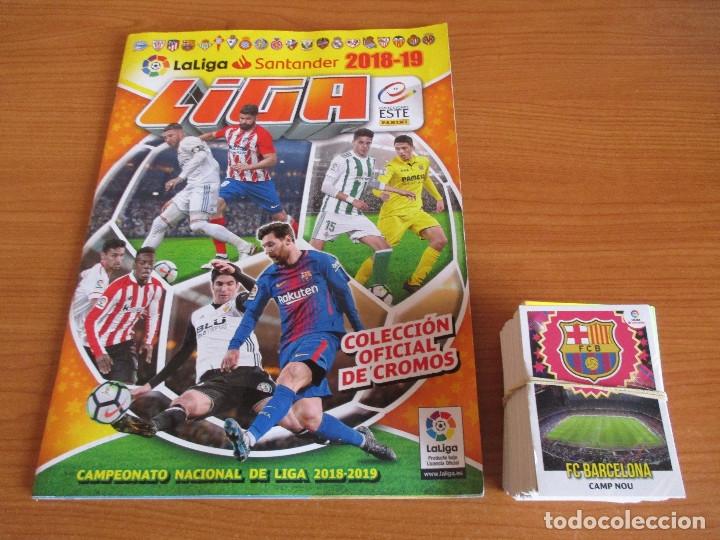 EDICIONES ESTE: ALBUM DE CROMOS VACIO TEMPORADA 2018/19 , (CON 270 CROMOS NUEVOS TODOS DISTINTOS)) (Coleccionismo Deportivo - Álbumes y Cromos de Deportes - Álbumes de Fútbol Incompletos)