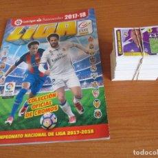 Coleccionismo deportivo: EDICIONES ESTE: ALBUM DE CROMOS VACIO TEMPORADA 2017/18 , (CON 375 CROMOS NUEVOS TODOS DISTINTOS)). Lote 173264795