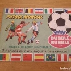 Coleccionismo deportivo: ALBUM FUTBOL MUNDIAL 82 CHICLES BUBBLE DUBBLE. Lote 173330049