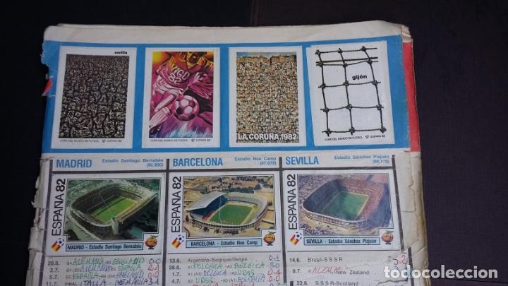 MUNDIAL WC ESPAÑA 82 - PANINI - ALBUM CON 390 CROMOS ( SOLO APTO PARA RECUPERAR CROMOS ) (Coleccionismo Deportivo - Álbumes y Cromos de Deportes - Álbumes de Fútbol Incompletos)