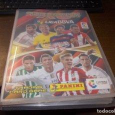 Coleccionismo deportivo: ALBUM ADRENALYN 2015-16 LIGA BBVA, PANINI CON 221 CARTAS. Lote 173811590