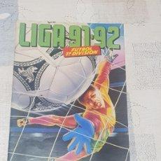 Coleccionismo deportivo: ALBUM ESTE 91/92 INCOMPLETO MÁS CROMOS . Lote 173854639