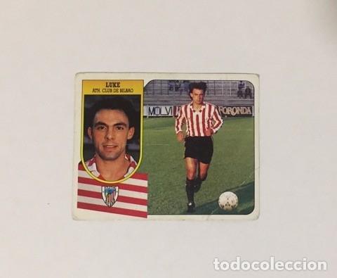 EDICIONES ESTE LIGA 91/92. LUKE ATH. CLUB DE BILBAO NUNCA PEGADO 1991/1992 (Coleccionismo Deportivo - Álbumes y Cromos de Deportes - Álbumes de Fútbol Incompletos)