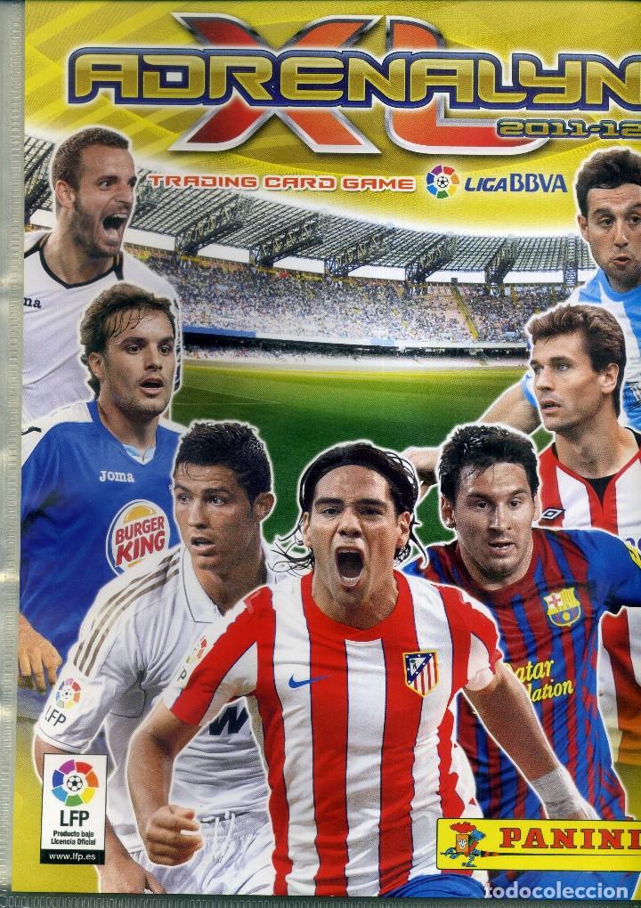 ADRENALYN 2011-12 - ALBUM VACIO - PANINI (Coleccionismo Deportivo - Álbumes y Cromos de Deportes - Álbumes de Fútbol Incompletos)
