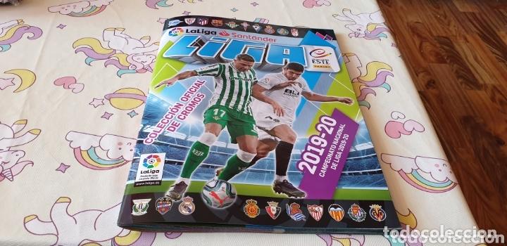 ALBUM LIGA ESTE CON 372 CROMOS PEGADO Y 41 CROMO DE CHICLE (Coleccionismo Deportivo - Álbumes y Cromos de Deportes - Álbumes de Fútbol Incompletos)