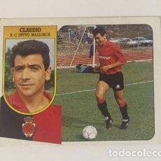 Coleccionismo deportivo: EDICIONES ESTE 91/92 CLAUDIO BAJA MALLORCA NUNCA PEGADO . Lote 174100912