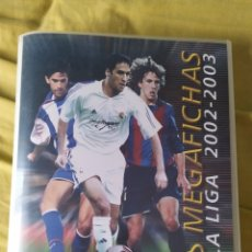 Coleccionismo deportivo: MEGAFICHAS 2002 2003 PANINI FICHERO ORIGINAL VACIO MEGACRACKS. Lote 194988843