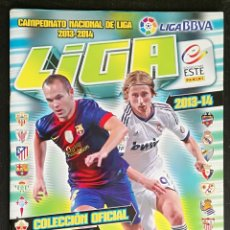 Coleccionismo deportivo: ALBUM DE FUTBOL 2013-14 ESTE - CONTIENE 73 CROMOS (2 FICHAJES, 1 DOBLE). Lote 174252089