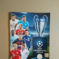 Coleccionismo deportivo: ÁLBUM PLANCHA VACÍO FÚTBOL 2015-2016 UEFA CHAMPIONS LEAGUE OFFICIAL STICKER COLLECTION TOPPS 15-16. Lote 174327064