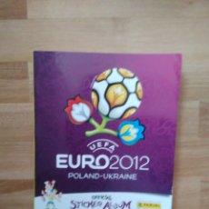 Coleccionismo deportivo: ÁLBUM VACÍO UEFA EURO 2012 POLAND UKRAINE PANINI EUROCOPA 12 POLONIA UCRANIA. Lote 174334548