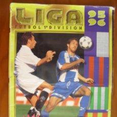 Coleccionismo deportivo: ALBUM LIGA FUTBOL 1ª DIVISION DE COLECCIONES ESTE CON 424 CROMOS. Lote 174389834