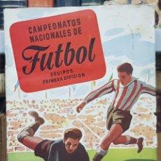 Coleccionismo deportivo: CAMPEONATOS NACIONALES DE FUTBOL. EQUIPOS DE PRIMERA DIVISION. 1954. RUIZ ROMERO. TIENE 133 CROMOS. Lote 48757621