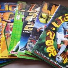 Coleccionismo deportivo: LOTE DE 7 ALBUMES LIGA ESTE 01 02, 02 03, 03 04, 04 05, 05 06, 07 08 Y 11 12. Lote 174584245