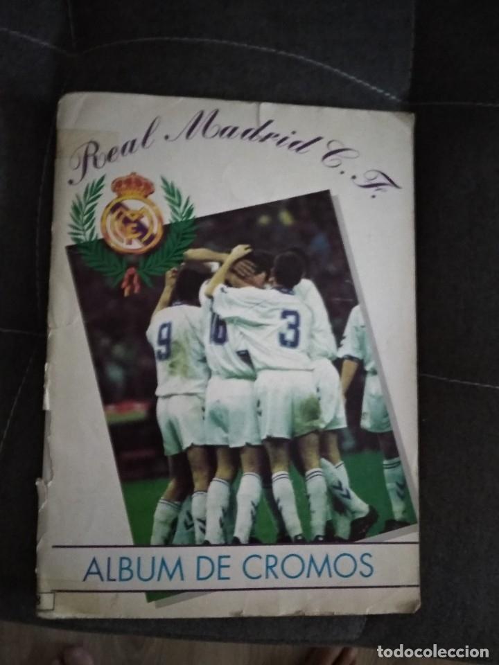 ALBUM REAL MADRID C.F. LE FALTA LA ULTIMA PAGINA Y EL CROMO 269 (Coleccionismo Deportivo - Álbumes y Cromos de Deportes - Álbumes de Fútbol Incompletos)