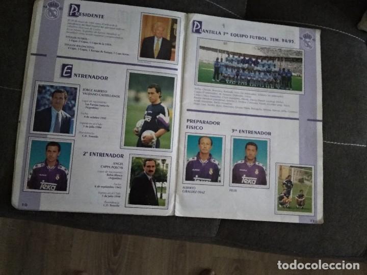 Coleccionismo deportivo: ALBUM REAL MADRID C.F. LE FALTA LA ULTIMA PAGINA Y EL CROMO 269 - Foto 2 - 174689882