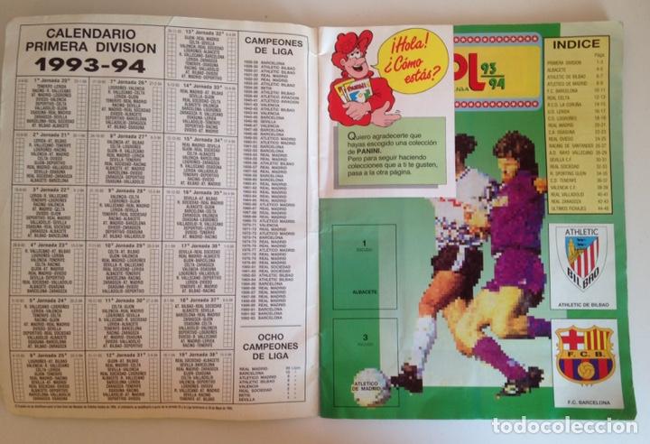 Coleccionismo deportivo: ALBUM DE FUTBOL ESTRELLAS DE LA LIGA 93-94 DE PANINI - ALBUM DE CROMOS ESTRELLAS DE LA LIGA 93-94 - Foto 2 - 175061088