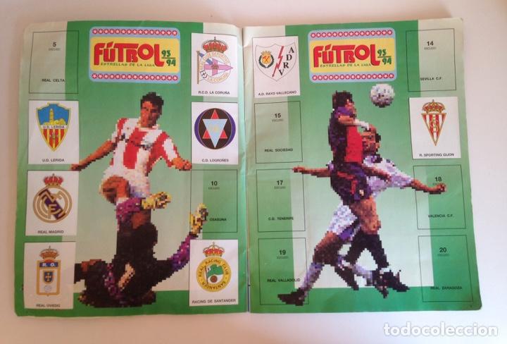 Coleccionismo deportivo: ALBUM DE FUTBOL ESTRELLAS DE LA LIGA 93-94 DE PANINI - ALBUM DE CROMOS ESTRELLAS DE LA LIGA 93-94 - Foto 3 - 175061088