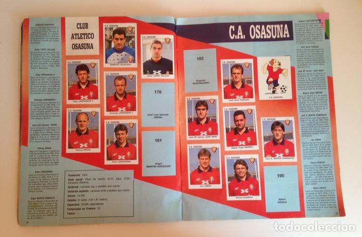 Coleccionismo deportivo: ALBUM DE FUTBOL ESTRELLAS DE LA LIGA 93-94 DE PANINI - ALBUM DE CROMOS ESTRELLAS DE LA LIGA 93-94 - Foto 12 - 175061088