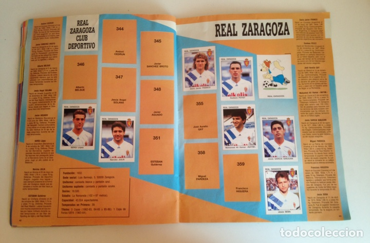 Coleccionismo deportivo: ALBUM DE FUTBOL ESTRELLAS DE LA LIGA 93-94 DE PANINI - ALBUM DE CROMOS ESTRELLAS DE LA LIGA 93-94 - Foto 22 - 175061088