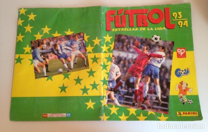 ALBUM DE FUTBOL ESTRELLAS DE LA LIGA 93-94 DE PANINI - ALBUM DE CROMOS ESTRELLAS DE LA LIGA 93-94 (Coleccionismo Deportivo - Álbumes y Cromos de Deportes - Álbumes de Fútbol Incompletos)