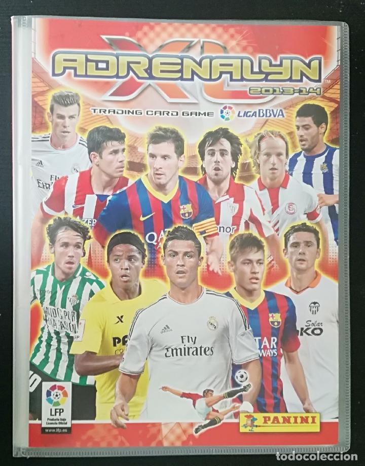 ALBUM DE FUTBOL ADRENALYN 2013-14; PANINI - CONTIENE 358 CROMOS (INCLUYE 2 EDICION ESPECIAL) (Coleccionismo Deportivo - Álbumes y Cromos de Deportes - Álbumes de Fútbol Incompletos)
