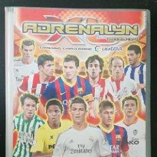 Coleccionismo deportivo: ALBUM DE FUTBOL ADRENALYN 2013-14; PANINI - CONTIENE 358 CROMOS (INCLUYE 2 EDICION ESPECIAL). Lote 175150622