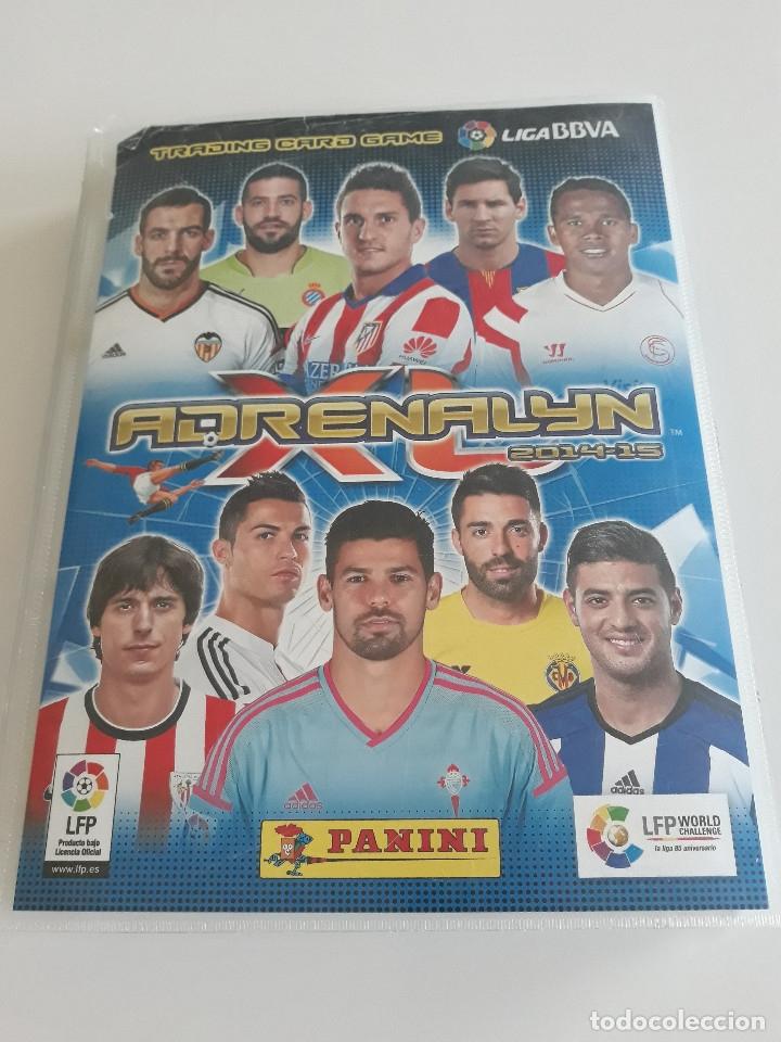 ADRENALYN ADRENALYN XL 2014/2015 14/15 - 497 CROMOS CARDS DIFERENTES (Coleccionismo Deportivo - Álbumes y Cromos de Deportes - Álbumes de Fútbol Incompletos)
